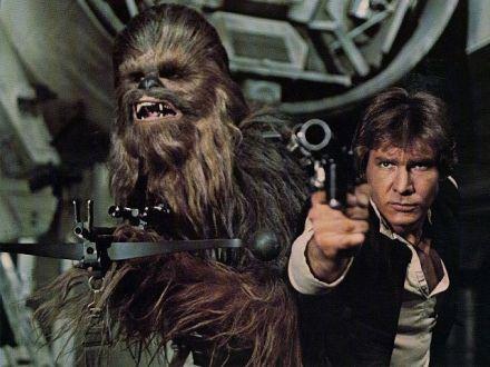 Chewbacca Han Solo